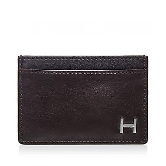 Hackett Leather H Card Holder