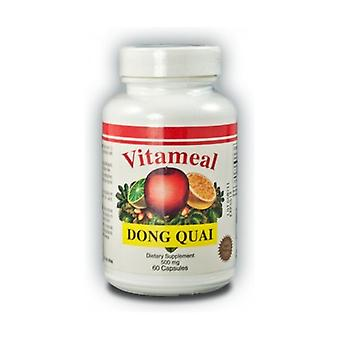 Dong Quai (Angelica Sinensis) 60 capsules of 500mg