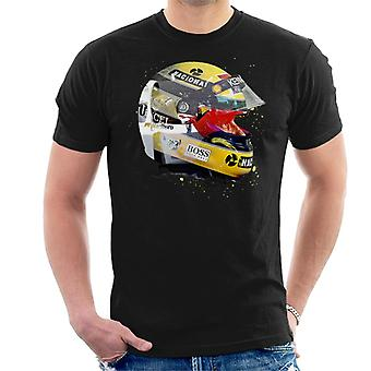 Motorsport kuvia Ayrton Senna Japanin Grand Prix 1993 miesten ' s T-paita