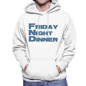 Friday Night Dinner Logo Men's Hooded Sweatshirt