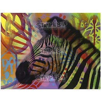 Stamplistic Zebra Cling Stamp