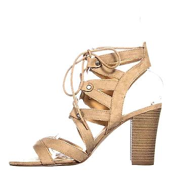 Xoxo naisten Balta kangas avoin toe rento slingback sandaalit