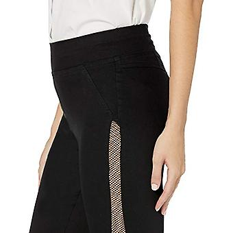 HUE Femmes's Plus Size Fashion Denim Leggings, Assorti, High Waist Mesh tuxed...