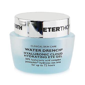 Água encharca nuvem hialurônica hidratando gel ocular 252189 15ml/0.5oz