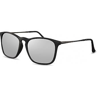 النظارات الشمسية الرجال المسافرين الرجال مات الأسود / الفضة (CWI2438)