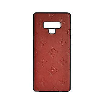 Telefon tilfelle støtsikkert deksel Monogram GG For Samsung Note 9 (rød)