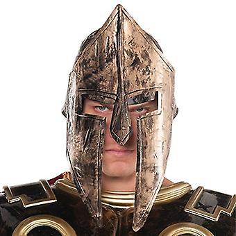 Amscan Spartan Helmet - Łaskawy Bóg i Bogini, Brąz, Rozmiar jeden Rozmiar