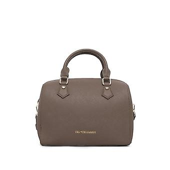 Trussardi -BRANDS - Bags - Handbags - 76BTRUS103_TAUPE - Ladies - sienna
