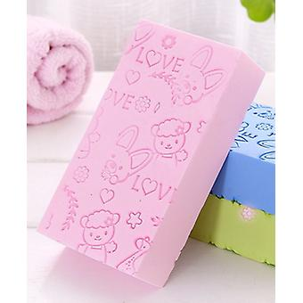 Asciugamano da bagno massaggio esfoliante in spugna per la pelle del bambino