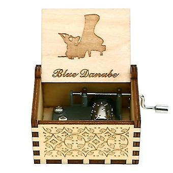 Handmade Wooden Anastasia Music Box For Christmas,daughter,birthday For Lovers