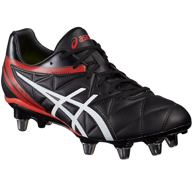 Lethal Scrum Rugby Boots - Black/Black/Vermillion