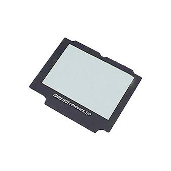 Replacement glass screen lens cover for nintendo game boy advance sp without adhesive - grey