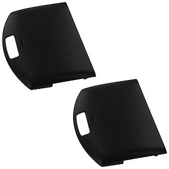 Battery cover for sony psp 1000 1001 1002 1003 1004 console - 2 pack black | zedlabz