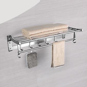 Style moderne, mur monté-espace barres de serviette en aluminium avec crochet