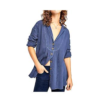 Free People | All About The Feels Button Shirt