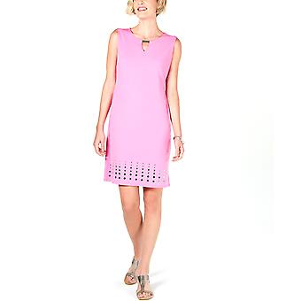 JM Collection | Mirror-Hem Sheath Dress