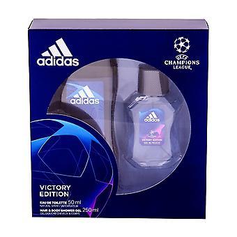 Giftset Adidas Victory Edition Edt 50ml + Żel pod prysznic 250ml