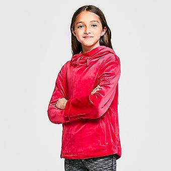 Új Rehatta Girls' Kacie Lighweight Fleece Jacket Pink