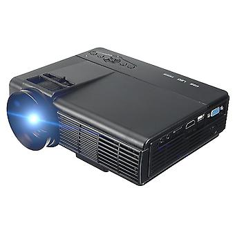 50 Lumens 3d 1080p Projector, Full Hd Home-theater Multimedia Vga/usb/hdmi/led