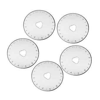 Circular Rotary Cutter Replacement Spare Safety Blades - Fabric Leather Craft