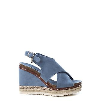 Xti  48920 women's synthetic suede wedges