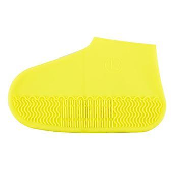 قابل لإعادة الاستخدام سيليكون الأحذية غطاء للماء وزلة التمهيد المطاط المقاوم