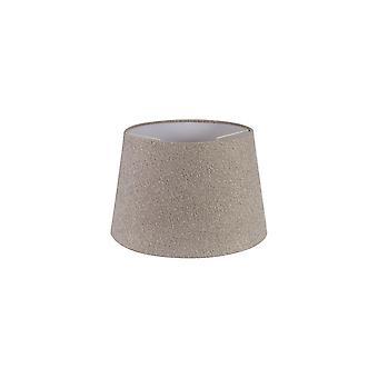 Araminta Round, 320/400 X 260mm Fabric Shade, Multi/white Laminate