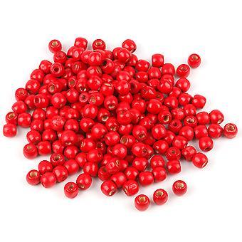 220 kirsebær røde treperler 12mm smykker Arts håndverk kjede - av TRIXES