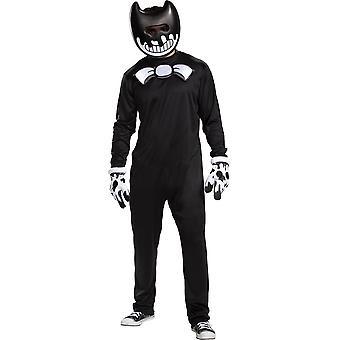 Mens Ink Bendy Costume - بيندي وآلة الحبر