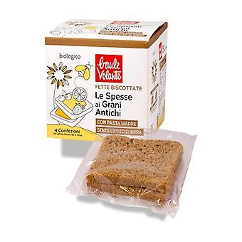 Thick rusks with ancient grains None