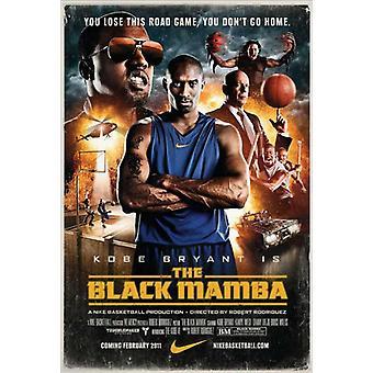 Sort Mamba film plakat (11 x 17)