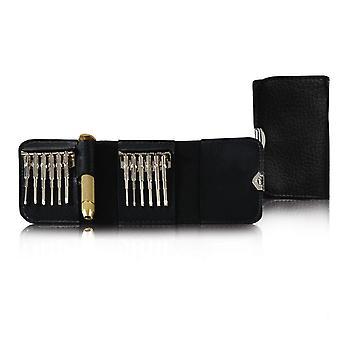 Tool Set 13 Pieces - Miniature Screwdriver Set For Clock Watches Model Making Mobile Phone Pc Laptop | Magnetisable Torque Slot Cross Slot
