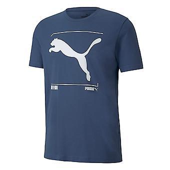 Puma Nutility Graphic Tee 58155243 universal ympäri vuoden miesten t-paita
