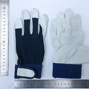 Defective Leather/pu Work Gloves Clearance Breathable Thin Gloves
