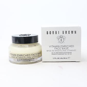 Bobbi Brown Vitamin Enriched Face Base Prime Moisturizer 1.7oz  New With Box