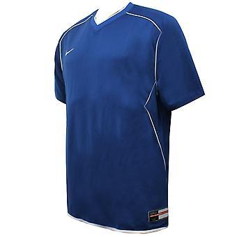 Nike Miesten Koripallo T-paita V Kaula Pitkä Sininen Harjoittelu Top 263290 434