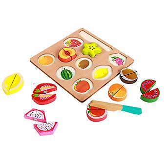Fruit gesneden speelgoed