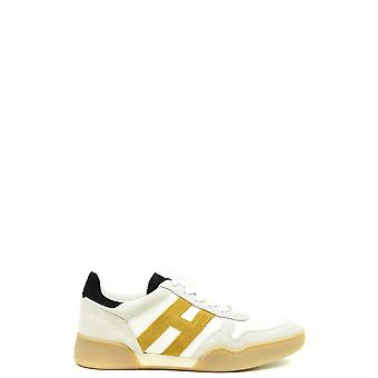 Hogan Ezbc030272 Mænd's Hvide Ruskind Sneakers
