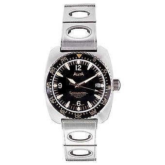 "Alsta Nautoscaph Superautomatic 50th Anniversary ""Gilt"" Limited Edition 100 pcs SUPERAUTOMATIC-GILT Watch"