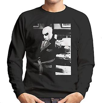 The Invisible Man Pointing Off Screen Men's Sweatshirt