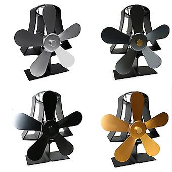 Thermal Power Five Leaf Fireplace Fan-eco Friendly