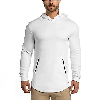 Running Jackets Outdoor Sports Hoodies Jogging Sportswear Gym Tight Training