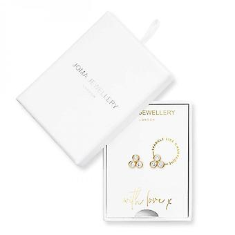 Joma Jewellery Treasure The Little Things Sparkle Like Champagne Earrings 3824