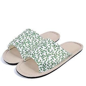 Winter Men Home Indoor Slippers Flip Flops Soft Plush Warm Casual House Shoe