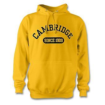 Cambridge Yhdistynyt 1909 perustettu jalkapallo huppari