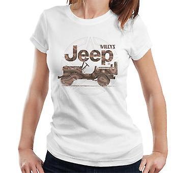Jeep Willys MA Star Women's T-Shirt