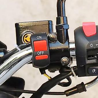 Universal Motorcycle Handlebar Flameout Switch, On Off Button