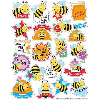 Pegatinas perfumadas de miel, paquete de 80