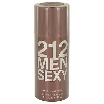 212 Sexy Deodorant Spray Por Carolina Herrera 5.1 oz Desodorante Spray