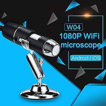 Wifi durable portable professional wi-fi microscope electron microscope digital microscope inspection camera photos waterproof